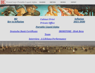 dynexcorp.com screenshot