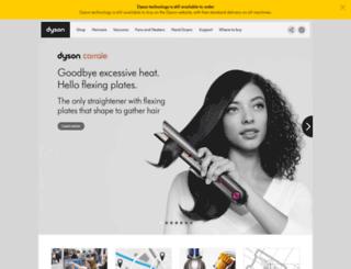 dyson.co.za screenshot