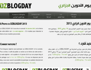 dzblogday.org screenshot