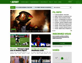dzfoot.com screenshot