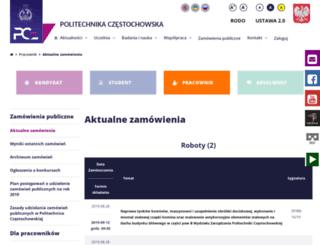 dzp.pcz.pl screenshot