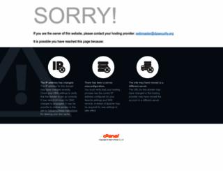dzsecurity.org screenshot