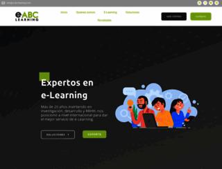 e-abclearning.com screenshot