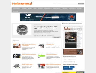 e-autonaprawa.pl screenshot