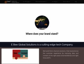 e-bee.com screenshot