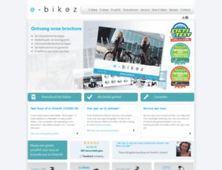 e-bikez.nl screenshot