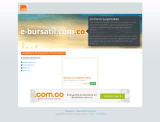 e-bursatil.com.co screenshot