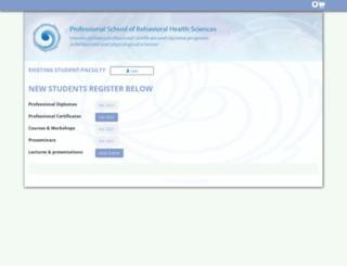 e-campus.bp.edu screenshot