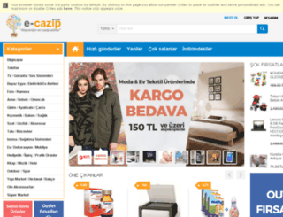 e-cazip.com screenshot
