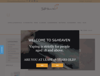 e-cigaretteshop.eu screenshot