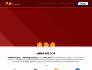 e-curiousminds.com screenshot