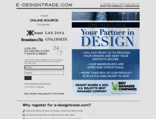 e-designtrade.com screenshot