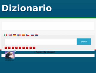 e-dizionario.com screenshot