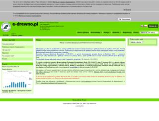 e-drewno.pl screenshot