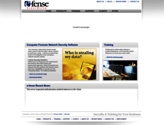 e-fense.com screenshot