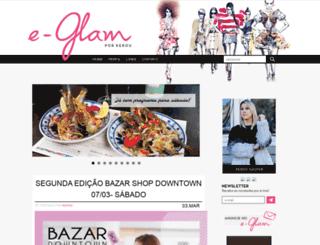 e-glamblog.com.br screenshot