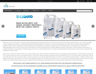 e-liq.com screenshot