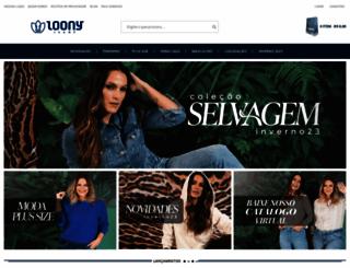 e-loonyjeans.com.br screenshot