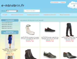 e-mandarin.fr screenshot