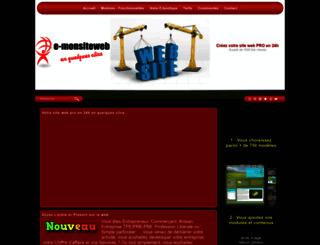 e-monsiteweb.com screenshot