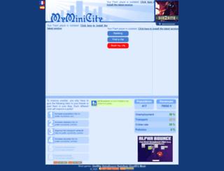 e-potter.myminicity.com screenshot