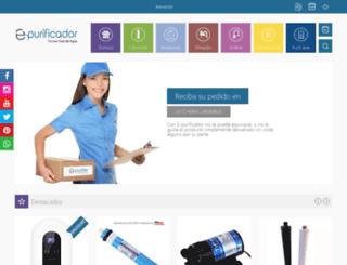e-purificador.es screenshot