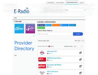 e-radio.lv screenshot