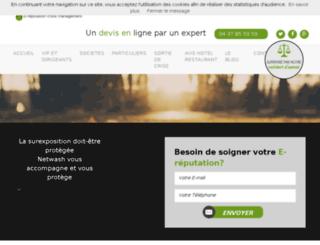 e-reputation.e-visibilite.com screenshot