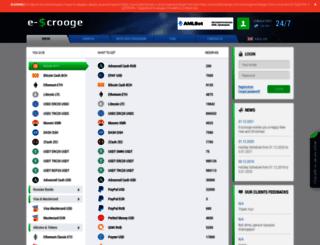 e-scrooge.is screenshot
