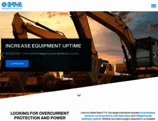 e-t-a.com screenshot