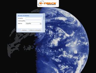 e-track.dyndns.org screenshot