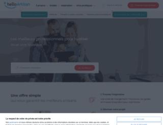 e-travaux.com screenshot
