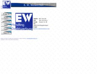 e-w-direktwerbung.com screenshot