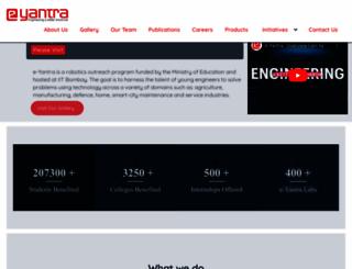 e-yantra.org screenshot