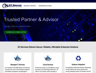 e2services.net screenshot