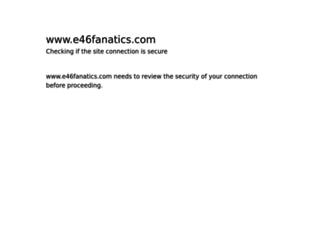e46fanatics.com screenshot