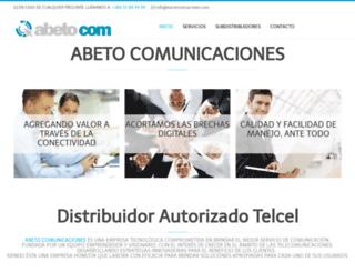 eacomunicaciones.com screenshot