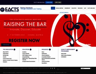 eacts.org screenshot