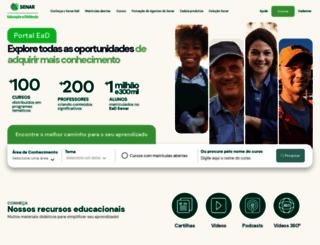 ead.senar.org.br screenshot