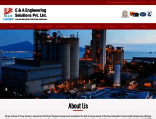 eaengineeringsolutions.com screenshot