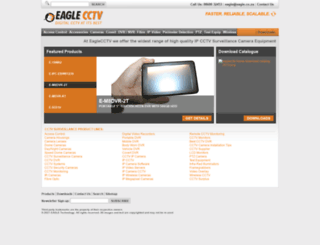 eaglecctv.co.za screenshot