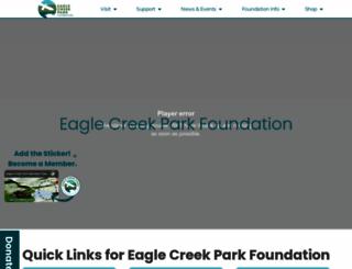 eaglecreekpark.org screenshot