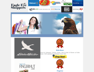 eagleeyeshoppers.com screenshot