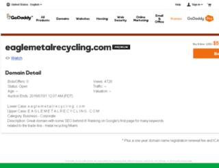 eaglemetalrecycling.com screenshot