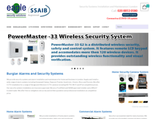 eaglesecuritysolutions.co.uk screenshot