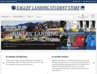 eagleslanding.lamission.edu screenshot