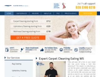 ealinglocalcleaners.co.uk screenshot