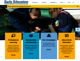 early-education.org.uk screenshot