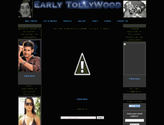 earlytollywood.blogspot.com screenshot
