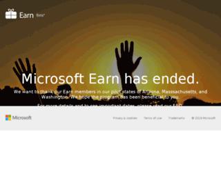 earnbymicrosoft.com screenshot